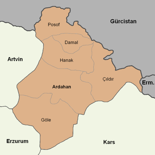 Ardahan location districts.png