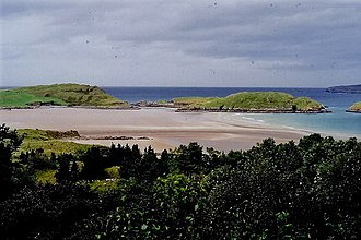 Creeslough - Clonmass Bay at Ards Forest Park, Creeslough.