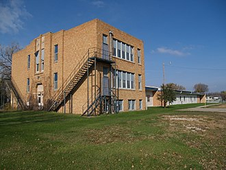 Argusville, North Dakota - Argusville High School in Argusville