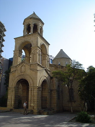 Armenians in Baku - St. Gregory the Illuminator's Church in Baku (currently non-functioning)