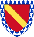 Armoiries des compagnons de Jeanne d'Arc - Gilbert Motier de La Fayette.png