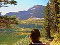 Around Cameron Lake in Waterton Nat Park (Alberta)A window over paradise^^Promenade autour de Cameron lake - panoramio.jpg