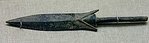 History of Lopburi - Arrow-head. Bronze, 4th century BCE.