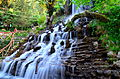 Artificial Waterfall in Company Garden-Mussoorie,India.JPG