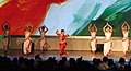 Artists performing regional traditional dance at the inaugural ceremony of the 42nd International Film Festival of India (IFFI-2011), at Ravindra Bhavan, in Madgaon, Goa on November, 23, 2011 (1).jpg