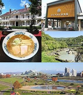 Asahikawa Core city in Hokkaido, Japan