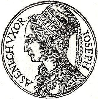 Asenath - Asenath from Guillaume Rouillé's Promptuarii Iconum Insigniorum