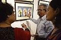 Asit Kumar Roy Explains His Creations - Group Exhibition - PAD - Kolkata 2016-07-29 5168.JPG