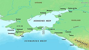 Battle of the Sea of Azov - Sea of Azov