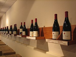 Wines from the California winery David Bruce W...