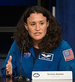 Astronaut Serena Aunon at Champions of Change (NHQ201509150025).jpg