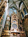 Astronomical Clock in Cathedral Strasbourg France.jpg