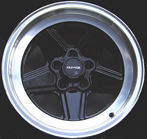 Mercedes-AMG - AMG Five Spoke Road Wheel 8JX16 Version 1