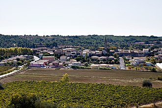 Aumes - A general view of Aumes