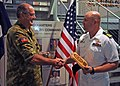 Australian commodore receives Halsey plaque 120426-N-ZF681-450.jpg