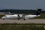 Austrian Airlines, De Havilland Canada DHC-8-400, OE-LGQ (18667397449).jpg