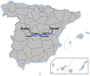 Autovía A-40 - Image: Autoviaesp a 40