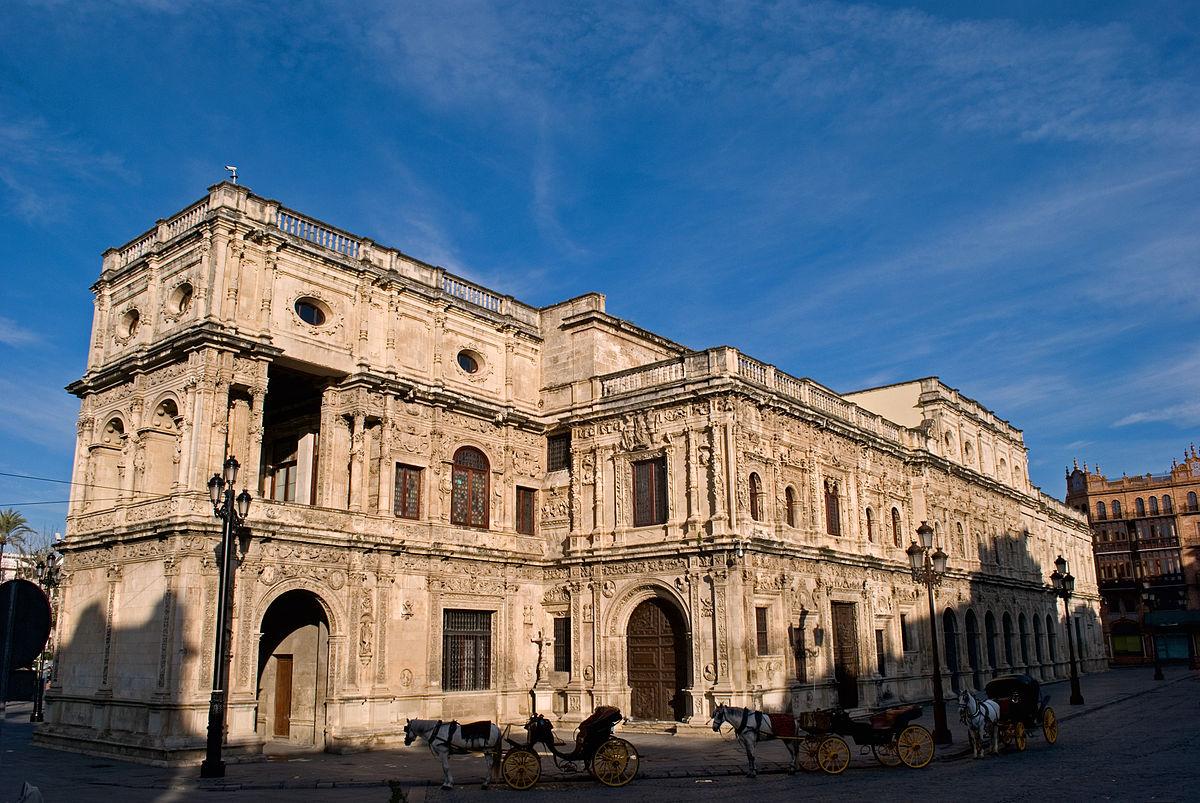 Casa consistorial de sevilla wikipedia la enciclopedia - Arquitectura sevilla ...