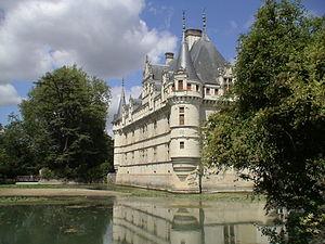 Schloss Azay-le-Rideau, Indre-et-Loire