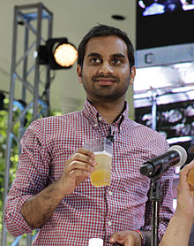 Aziz ansari wikipedia aziz ansari at the 2012 great googamooga festival in prospect park brooklyn stopboris