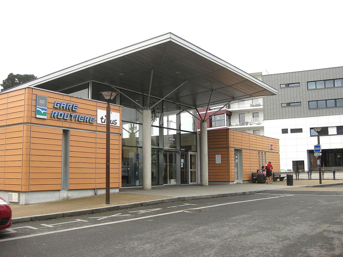 Gare de lannion wikip dia - Comptoir metallurgique de bretagne lannion ...