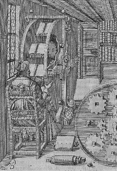 Das Bücherrad