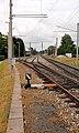 Bürmoos - Ort - Bahnhof Bürmoos Anlage - 2013 07 04 - Gleisanlage.jpg