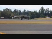 File:B-25 Mitchell Bomber start-up and fly-by at Paine Field USA Sept 2011 with sound.ogv