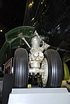 B-52 main wheel detail, National Museum of the US Air Force, Dayton, Ohio, USA. (46335636162).jpg