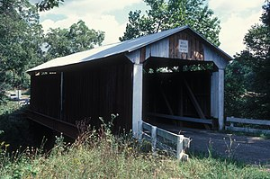 Bell Covered Bridge - Southern portal and western side