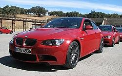 E92 BMW M3 coupé