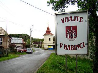 Babinec Village in Slovakia