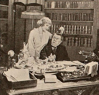 Babs (1920 film) - Still with Corinne Griffith and George Fawcett