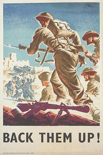 Military history of the United Kingdom during World War II - British Second World War propaganda poster