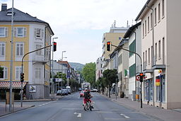 Alleestraße in Bad Soden am Taunus