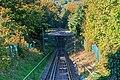 Baden-Baden 10-2015 img10 Merkur funicular track.jpg