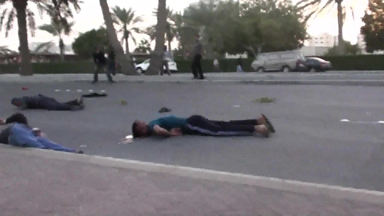 Watch The Following >> File:Bahrain army open fire on protesters.ogv - Wikipedia
