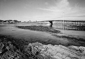 Bailey Island Bridge - Image: Baileyib 2