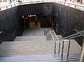 Baixada a l'estació del Mercat del Tram, Alacant.JPG