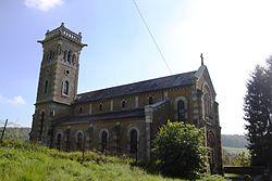 Balaives et Butz (08 Ardennes) - Église Saint-Pierre-aux-Liens - Photo Francis Neuvens lesardennesvuesdusol.fotoloft.fr.JPG