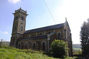Balaives-et-Butz - The Church of Saint-Pierre-aux-Liens