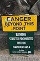 Ballycastle harbour sign, September 2010 (02).JPG