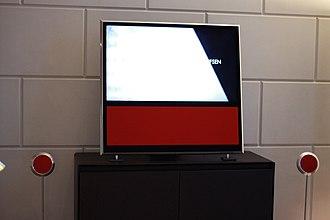 Scandinavian design - Bang & Olufsen TV and speakers