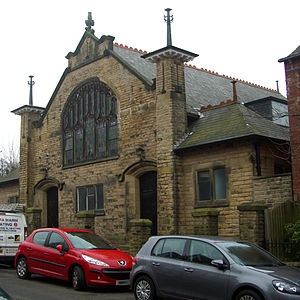 Banner Cross Methodist Church - The original 1907 church facing Glenalmond Road, now used as additional rooms for activities.