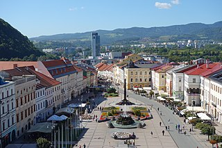 Banská Bystrica City in Slovakia
