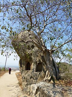 Barabar Caves - Rock Shrine (9224662443).jpg