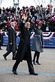 Barack and Michelle Obama walk in the 2013 inaugural parade.jpg