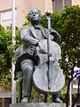 Barcelona - Avinguda de Pau Casals, escultura de Josep Viladomat.jpg