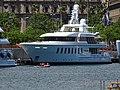 Barcelona harbour yacht Gladiator.jpg