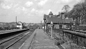 Bardsey, West Yorkshire - Bardsey railway station